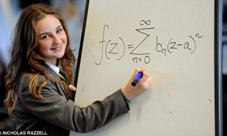 A 12 year old schoolgirl in Liverpool England has a higher IQ than Albert Einstein.
