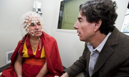 Matthieu Ricard Bends The Scales Of Brain Activity While Meditating In A Laboratory