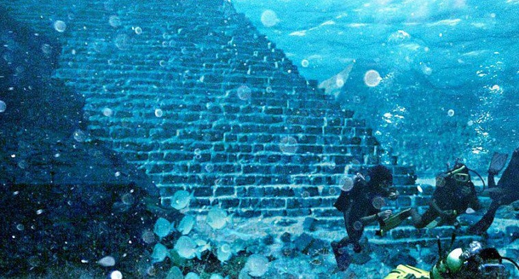 A 20,000 Year-Old Underwater Pyramid Discovered In Mid