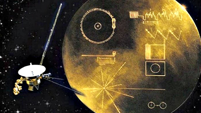 Risultati immagini per alien message, voyager 2