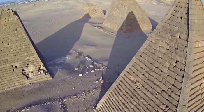 Watch Incredible Drone Footage Of The Long Lost Nubian Pyramids