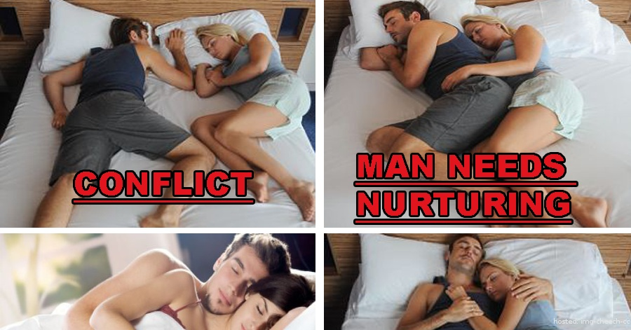 What Your Sleeping Position Says About Relationship