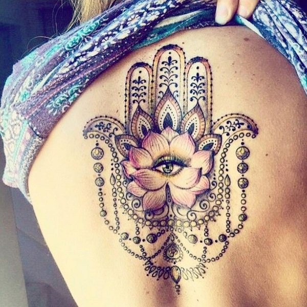 Hamsa Tattoos Designs Ideas And Meaning: 10 Amazing Tattoos For The Spiritually Minded People