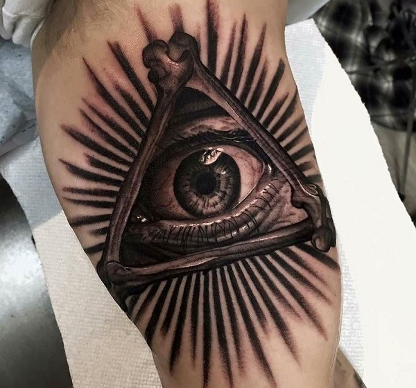 All Seeing Eye Tattoo: 10 Amazing Tattoos For The Spiritually Minded People