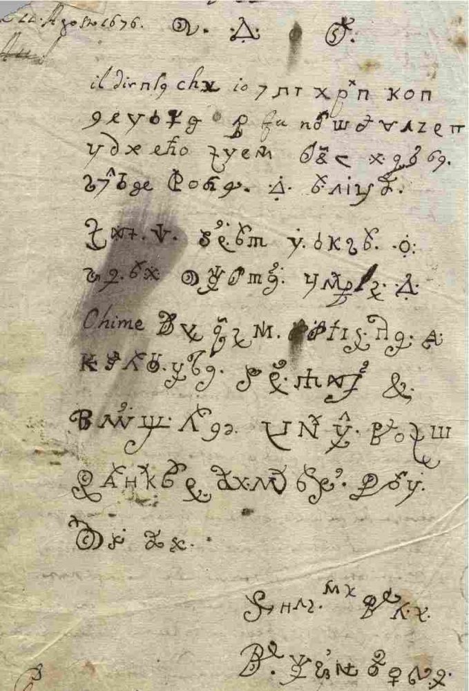 "Devil Letter Written By Possessed Nun In 1676 Finally Translated From ""Dark Web"" 1"