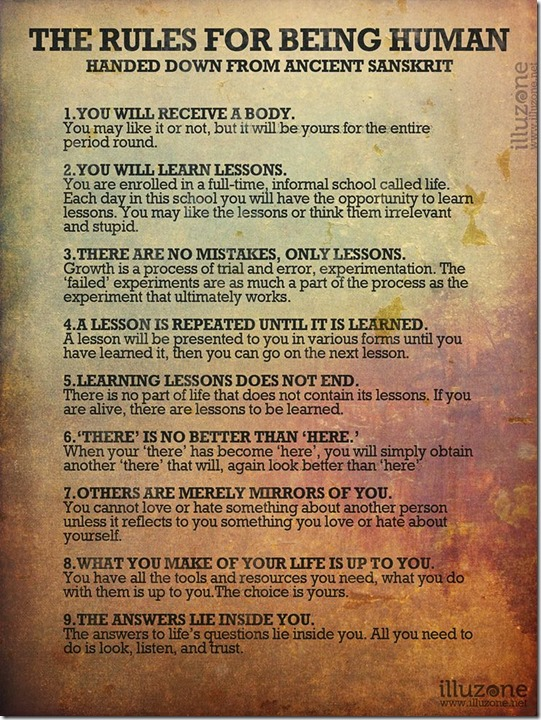 9 Rules for Being Human Handed Down From an Ancient Sanskrit 1